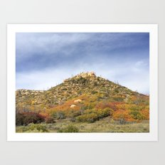Mesa, Colorado Art Print