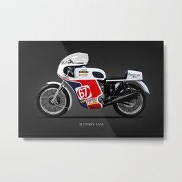 Slippery Sam Classic Racer Metal Print