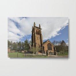 Closeburn Church Metal Print