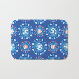 Bubbly Pattern Bath Mat