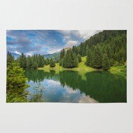 Alpine summer, Austria Rug