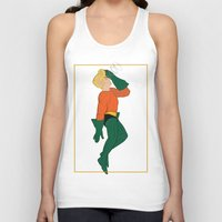 aquaman Tank Tops featuring Aquaman by logicasOcenenie