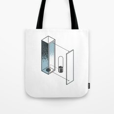 The Exploded Alphabet / I Tote Bag