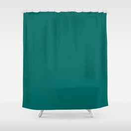 Quetzal Green Pantone fashion color trend autumn fall 2018 Shower Curtain