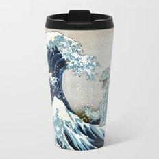 Godzilla Off Kanagawa Travel Mug