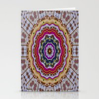 woodstock Stationery Cards featuring Woodstock Pattern kinda by Pepita Selles