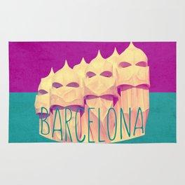 Barcelona Gaudi's Paradise Rug