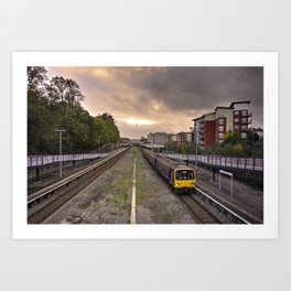 Exeter Central Pacer Art Print