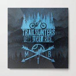Trailhunters Metal Print