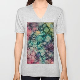 ~abstract~ Unisex V-Neck