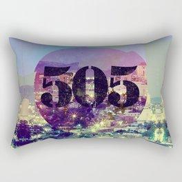 """Albuquerque – """"The 505"""" Rectangular Pillow"""