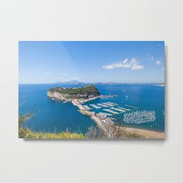 Nisida, Bay of Naples Metal Print