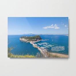 Nisida, Bay of Naples Metal Print