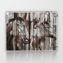Three Horses Laptop & iPad Skin