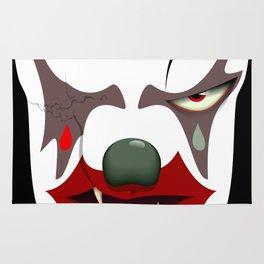 Evil clown Rug