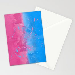 Pink or Blue Sleeping Beauty Inspired Stationery Cards