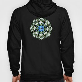 Folkloric Lily Medallion Hoody