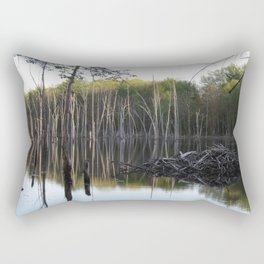 Dam Swamp Rectangular Pillow