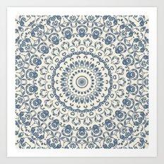 Granny's Old Lace Art Print