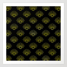 Napier, New Zealand Art Deco Pattern Art Print