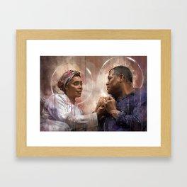 Cercami dove sei Framed Art Print
