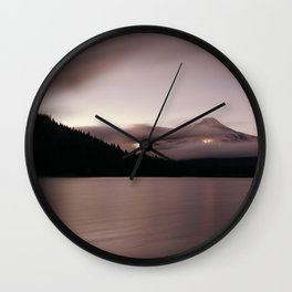 Dreaming of the Mountains Wall Clock