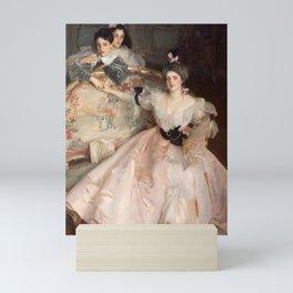 """John Singer Sargent """"Mrs. Carl Meyer and her Children"""" Mini Art Print"""