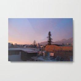 Arequipa Peru Sunset Metal Print