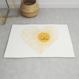 You are the Sunshine of my heart Rug