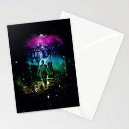 time traveller v2 Stationery Cards