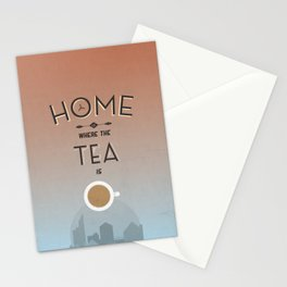 Home Is Where The Tea Is... Stationery Cards