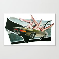Muscle Magnet | Collage Canvas Print