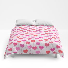 Heart Suckers Comforters