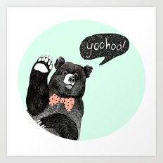 yoohoo! Art Print