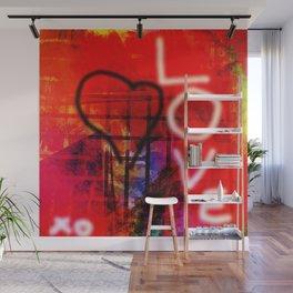 Love Graffiti Wall Mural