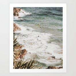 gold coast / australia Art Print