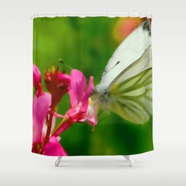 Butterfly's inn ... Shower Curtain