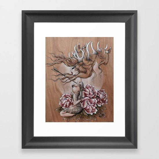 """""""Jelena"""" Framed Art Print"""