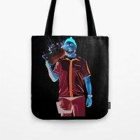 steve zissou Tote Bags featuring Steve Zissou by Natasha Martono