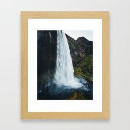 Seljalandsfoss Iceland Framed Art Print