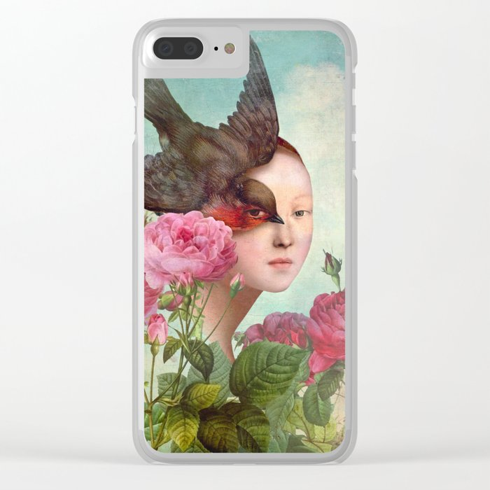 The Silent Garden Clear iPhone Case