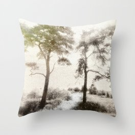 Peace before the Storm Throw Pillow