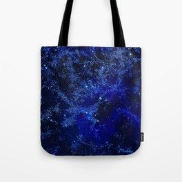 Celestial Blues Tote Bag