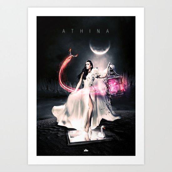 Athina Art Print