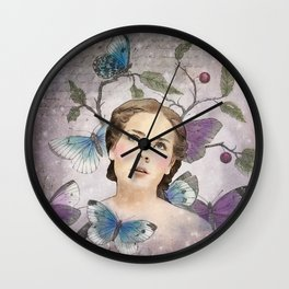 Butterfly Dreams Wall Clock
