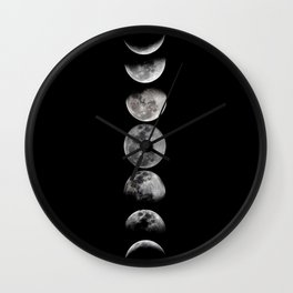 Phases of the Moon Wall Clock