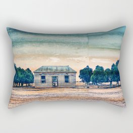 Hard Times On The Farm Rectangular Pillow