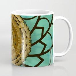 Kaleidoscope dream green Coffee Mug