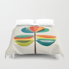 Whimsical Bloom Duvet Cover