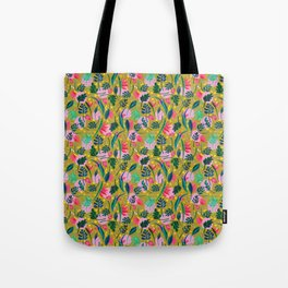 Cool summer in the mustard Tote Bag